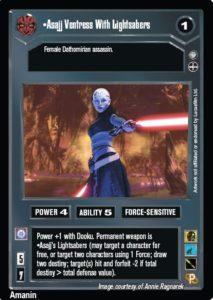 Star Wars TCG AOTC 2 Player Starter Decks